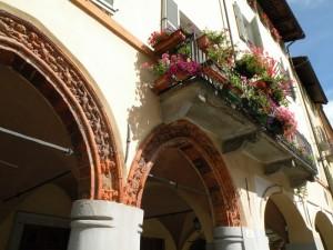 due bellissimi archi del borgo del Piazzo