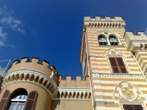 Castellaro - Torri del Castello di Castellaro (IM)