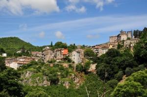 Panorama di Canepina (VT)