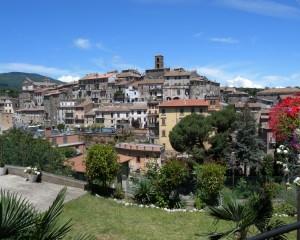 Panorama di Vallerano (VT)
