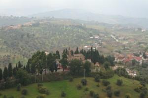 Panorama sulla chiesa