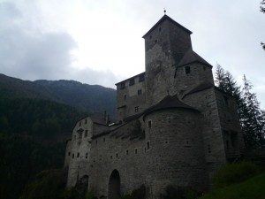 castello di tures crepuscolare