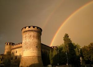 Arcobaleno su Castello Orsini (XII) - 18.09.2008