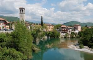 Cividale del Friuli dal Ponte del Diavolo