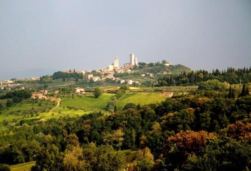 San Gimignano - Panorama Francigeno.