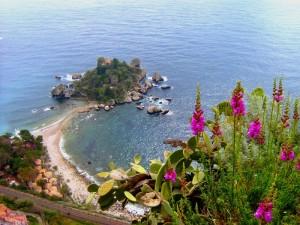 Taormina - Panoramica di Isola Bella