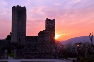 Vista della Rocca di Serravalle Pistoiese