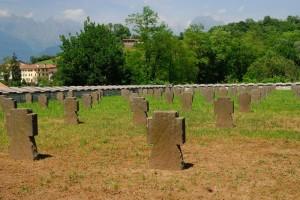 Il cimitero di guerra germanico