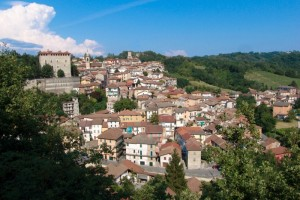 Veduta di Castelletto D'Orba