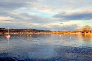 Il lago maggiore a Dormelletto