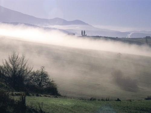 Civitella Paganico - nebbia maremmana