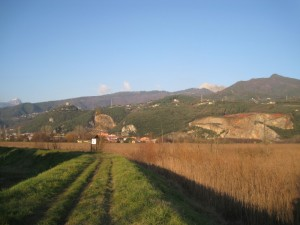 Lago di Porta vista castello