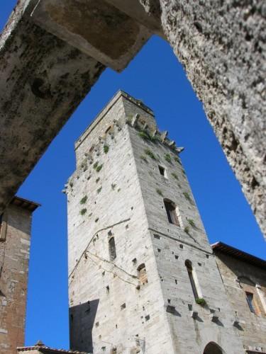 San Gimignano - Torre incorniciata