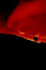 L'Etna ed il fiume di fuoco