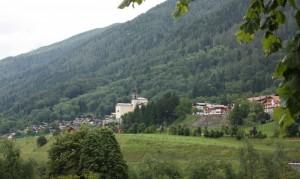 panorama con chiesa