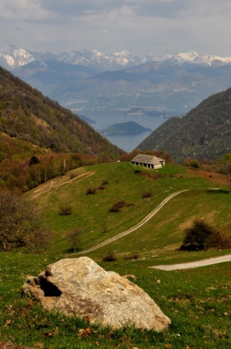 San Fedele Intelvi - Alpeggio con vista lago