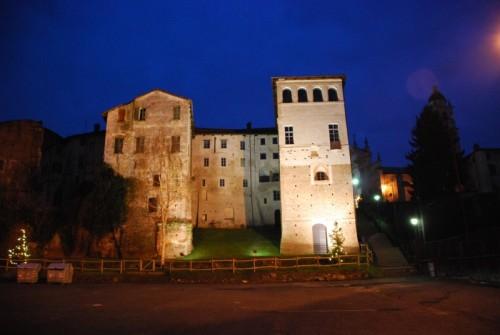Buronzo - luci sul castello