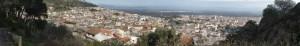 Panoramica Villacidro dal belvedere del Carmine