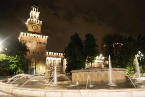 Notturna Castello Sforzesco Milano 2