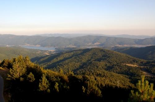 Aprigliano - dal monte Botte Donato (1928 slm) veduta della Sila grande e del lago Arvo