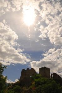 Il Castello di Cly, silhouette