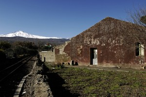 Sulle rotaie per l'Etna