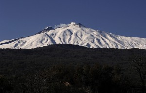 La montagna innevata