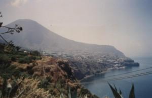 Veduta dell'isola di Salina