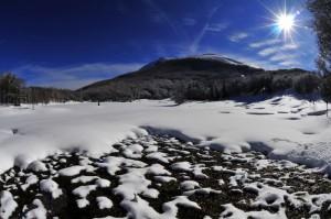 Il Ventasso ed il lago gelato