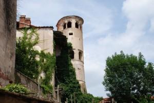 la torre rotonda del castello