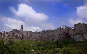 Veduta di Pitigiliano