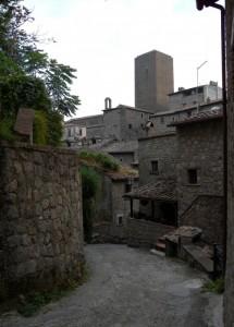 Scorcio del Borgo di Bassano in Teverina (VT)