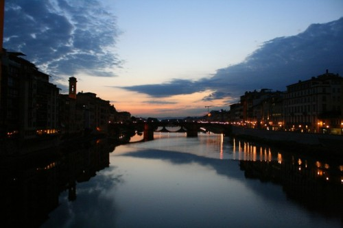 Firenze - arno by night