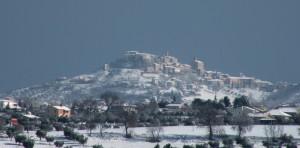 Un manto bianco su Colonnella