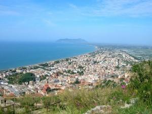 Terracina (LT) - Panorama dal Santuario di Giove