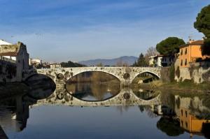 Panorama del Ponte alla Porta del Mercatale di Prato