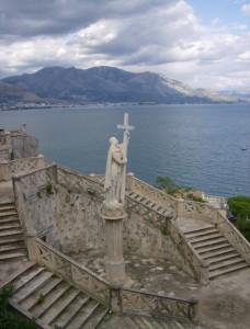 Veduta di Gaeta dal Santuario della SS. Annunziata