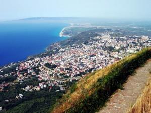 Panorama de Comune di Palmi, visto dal Monte S'Elia