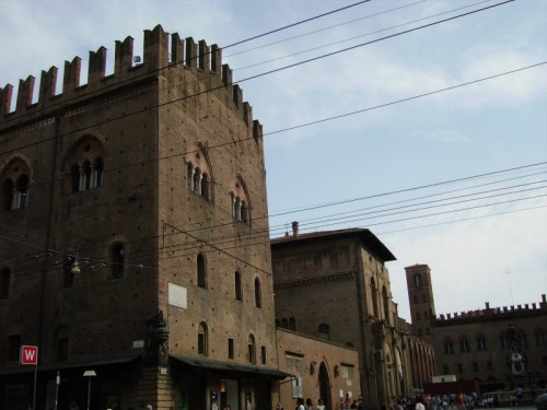 Bologna - castello dove fu tenuto prigioniero il re di sardegna