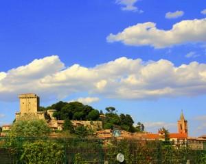 il castello di Sarteano