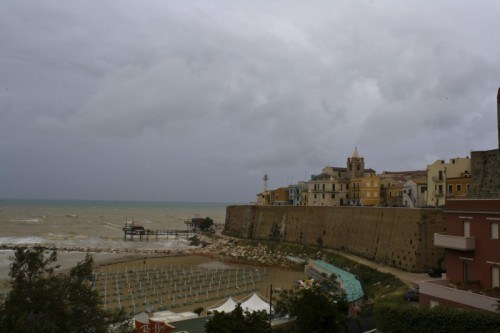 Termoli - Un giorno di pioggia...