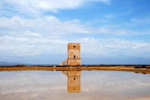 Torre Nubia riflessa