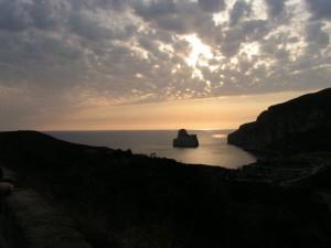 Panoramica di Pan di Zucchero - Masua - Spiaggia di Nebida