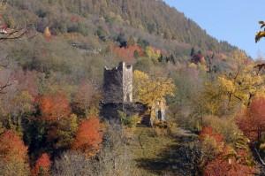 Castello e Torre di Mancapane sopra Montagna in Valtellina