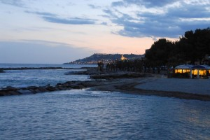 Panoramica di Riva Ligure