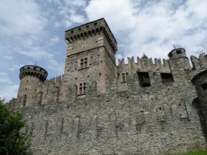 Alcune torri del castello