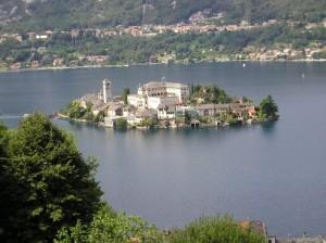 Panorama dell'isola di San Giulio