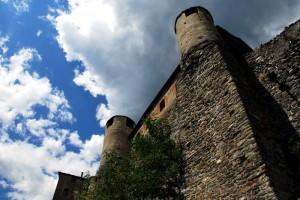 Il Castello di Quart, custode della tempesta