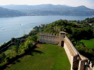 Panorama dalla Rocca di Angera