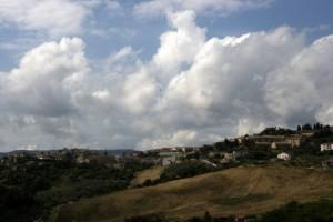 Panorama dalla campagna
